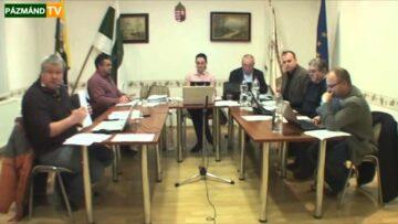 2014.február 14. – Pázmánd – Testületi ülés