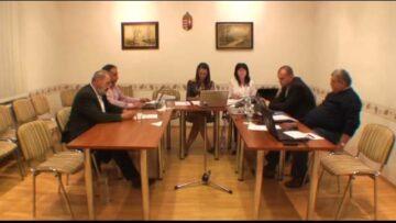 2014. október 8. – Adás – Testületi ülés