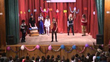 2015. február 7. – Pázmándi farsang – 5. osztály