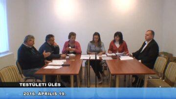 2016. április 19. – Testületi ülés – Pázmánd