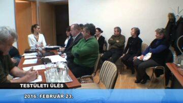 2016. február 23. – Testületi ülés – Pázmánd