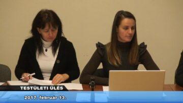 2017. február 13. – Testületi Ülés – Pázmánd