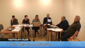 2017. március 13. – Testületi Ülés (2. ülés) – Pázmánd