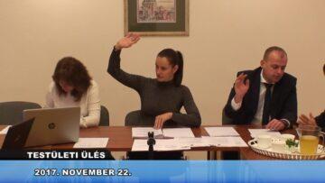 2017. november 22. – Testületi Ülés – Pázmánd