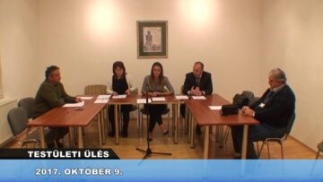 2017. október 9 – Testületi Ülés – Pázmánd