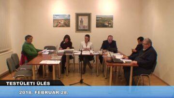 2018. február 28. – Testületi ülés Pázmándon – Pázmánd TV
