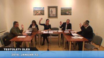 2018. január 12. – Testületi ülés – Pázmánd