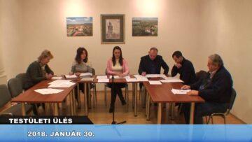 2018. január 30. – Testületi ülés – Pázmánd