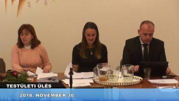 2018. november 30. – Testületi ülés – Pázmánd