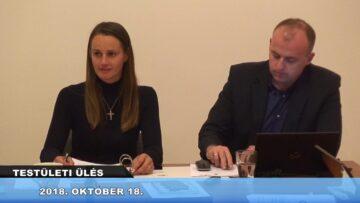 2018. október 18. – Testületi ülés – Pázmánd