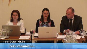 2019. február 21. – Testületi ülés – Pázmánd