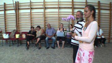 A közmunka programban résztvevők köszöntése Pázmándon – 2014. HD