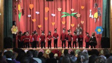 A pázmándi óvoda farsangi mulatsága – Kiscsoport