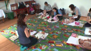 Babamasszázs tanfolyam indul a Művelődési Házban – 2015.