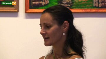 Bújtás-Schulcz Erzsébet kiállítása a pázmándi Hét Forrás Művelődési Házban – 2013. HD
