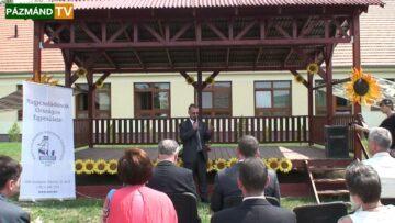 Családbarát Önkormányzat Díjátadó – Pázmánd – 2013.