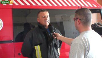Gyakorlatot tartott a Pázmándi Önkéntes Tűzoltó Egyesület – 2014. HD