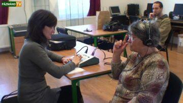 Ingyenes hallásvizsgálat a pázmándi Művelődési Házban – 2014. HD