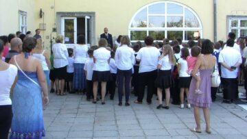 Megkezdődött a tanítás Pázmándon – 2015.