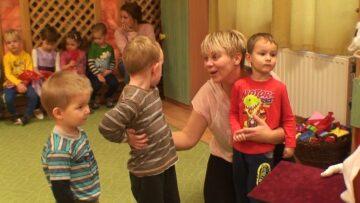Mikulás a pázmándi óvodában –  Kiscsoport – 2018