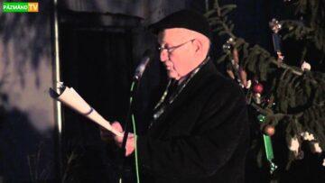 Negyedik Adventi gyertya meggyújtása Pázmándon – 2013. HD