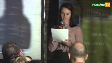 Pázmánd – VEKI konferencia – 2013. május 10. – Dr. Virányiné Dr. Reicheinbach Mónika köszöntője