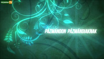 Új műsorszerkezettel jelentkezik a Pázmánd TV – 2014. HD