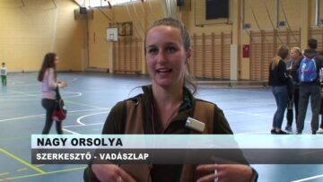 Vadászkutya bemutató a Pázmándi Sportcsarnokban – 2019.