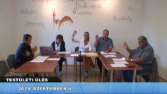 2019. szeptember 6. – Testületi ülés – Pázmánd
