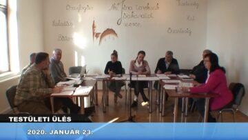 2020. január 23. – Testületi ülés – Pázmánd