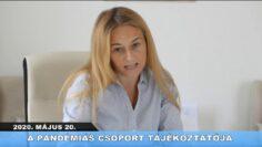 2020. május 29. – Pázmánd TV – Teljes adás