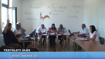 2020. július 22. – Testületi ülés – Pázmánd