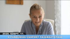2020. szeptember 18. – Pázmánd TV – Teljes adás