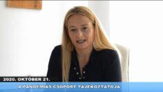 2020. október 23. – Pázmánd TV – Teljes adás