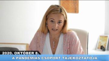 2020. október 9. – Pázmánd TV – Teljes adás