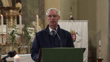 2020. november 8. – Hálaadó szentmise Pázmándon – Soltész Miklós államtitkár beszéde